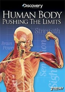 Discovery Channel   Human Body Pushing The Limits DVD, 2008, 2 Disc
