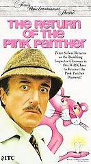 The Return of the Pink Panther VHS, 1993