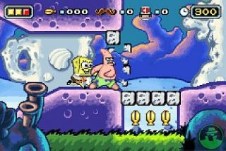 The SpongeBob SquarePants Movie Nintendo Game Boy Advance, 2004