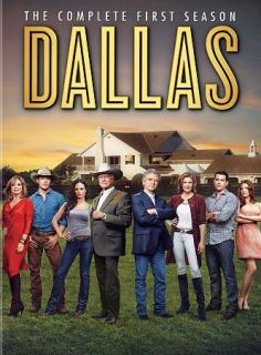 Dallas The Complete First Season DVD, 2013, 3 Disc Set