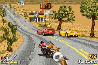 Road Rash Jailbreak Nintendo Game Boy Advance, 2003