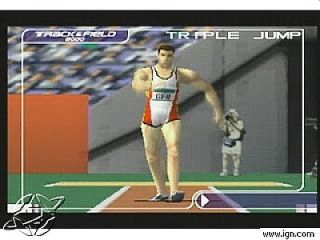 International Track Field 2000 Nintendo 64, 2000
