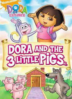 Dora the Explorer   Dora and the 3 Little Pigs DVD, 2009