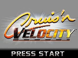 Cruisn Velocity Nintendo Game Boy Advance, 2001