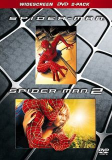 Spider Man 1 2 DVD, 2005, 2 Disc Set, Widescreen SE Limited Edition