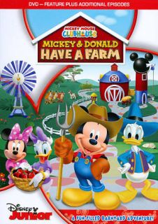 Mickey Mouse Clubhouse Mickey Donald Have a Farm DVD, 2012
