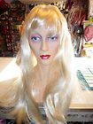 Long Blonde Wig Perfect for Agnetha from ABBA Value