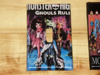 Monster High Doll Light Switch Cover All Sizes Single Double Outlet