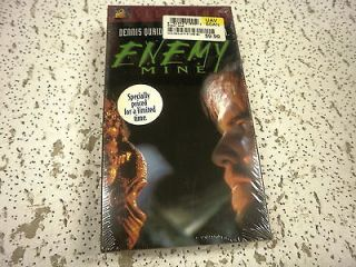 L65 ENEMY MINE DENNIS QUAID 20th CENTURY FOX 1985 NEW VHS TAPE