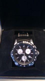 Wrist watch Chronograph / Black Strap  80 26 2 14 99 98