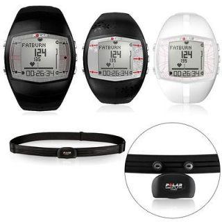 Polar FT40 Fitness Heart Rate Monitor   Mens Black Womens Black White