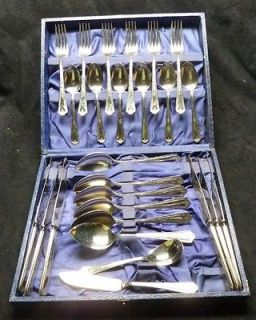Simeon L. & George H. Rogers Company   Nickel Silver   Flatware Set