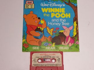 Disney Winnie The Pooh and the Honey Tree Read Along Book & Cassette