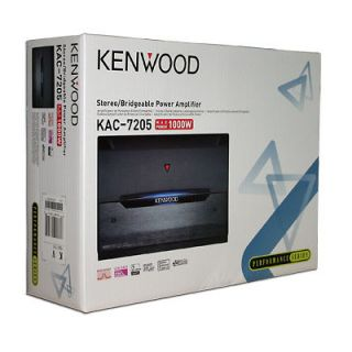 New Kenwood PERFORMANCE 1000 Waat 2 Channel Car Audio Amplifier Stereo