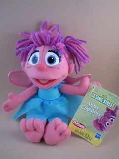 NEW Sesame Street ABBY CADABBY Stuffed PLUSH ANGEL DOLL Tagged