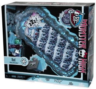 New MONSTER HIGH Doll ABBEY BOMINABLE ICE BED PLAYSET NIB Daughter of
