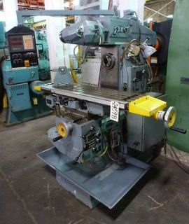 American Machine Tool Horizontal Milling Machine, No. HU 2CM, 11x51