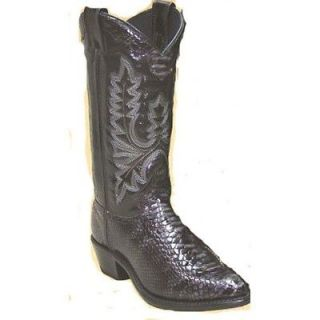 NEW in BOX 9031 Abilene Ladies Western Snakeskin Print Cowboy Boots