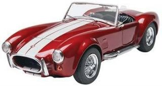 MONOGRAM 1/25 SCALE SHELBY COBRA 427 S/C PLASTIC CAR MODEL KIT 854011