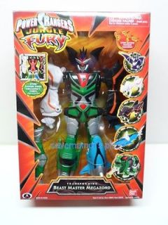Power Rangers Jungle Fury by Bandai Transforming Beast Master Megazord