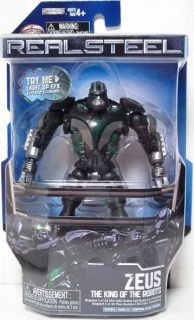Real Steel 5 ZEUS King of the Robots Basic Action Figure Series 1 NIP