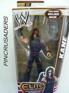 Wwe Elite Collection Action Figure Series 19 Kane with Welder Mask