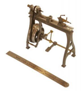 Live Steam Engine Model Wood Lathe Casting Set WL1