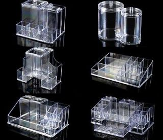 Acrylic makeup organizer w drawers clear cube cosmetic - Rangement acrylique maquillage ...