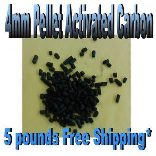 Activated Carbon Charcoal 4mm pellets hydroponics, aquariums, air