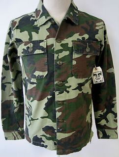 OBEY CLOTHING CANTER MENS LIGHT WEIGHT JACKET OVERSHIRT URBAN ART NWT