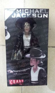 Crazy Toys MICHAEL JACKSON 6 Action Figure Limited Edition new in box