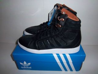 ADIDAS SIXTUS Black High Top Mens Shoes
