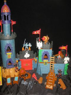 Fisher Price Imaginext Battle Castle System /w Instructions B