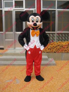Free Shipping Professional Mickey Mouse Mascot Costume Adult Cartoon