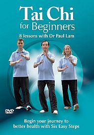 Tai Chi for Beginners   8 Lessons with Dr Paul Lam (DVD)