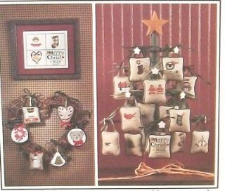 The Cricket Collection *CHRISTMAS ADVENT CALENDAR* Cross Stich Pattern