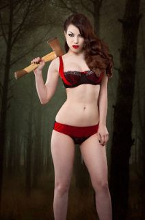 NEW IN Kiss Me Deadly Sirena 1/4 cup Bra ONLY 36B,36C,36D STILL