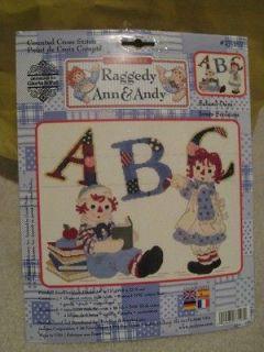 Ann & Andy Counted Cross Stitch Kit 16 count Aida fabric DMC thread
