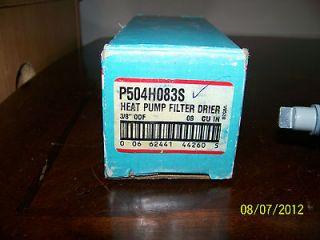 Totaline Heat Pump Filter Drier P504H83S 3/8 ODF 08 CU IN