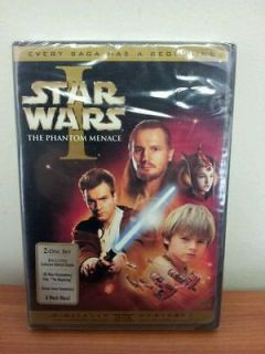 Episode I The Phantom Menace 2 Disc DVD Set Widescreen BRAND NEW