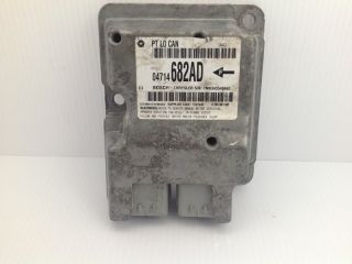 2004 07 Chrysler PT Cruiser SRS Air bag module Sensor ECU 04714682AD