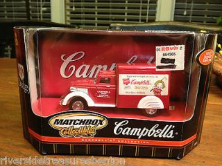 Matchbox Collectibles 1937 Dodge Airflow Campbells Soup DieCast Truck