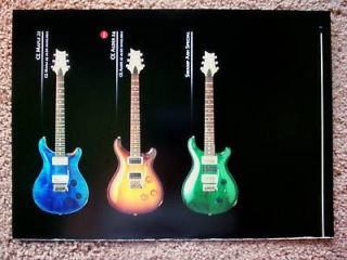 PAUL REED SMITH PICTURE AD MAPLE ALDER CE 22 PRS SWAMP ASH GUITAR