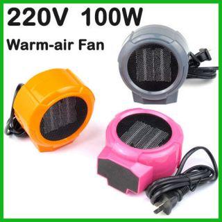 220V/100W Electric Warm air Fan Warmer Heater Winter Warmer new