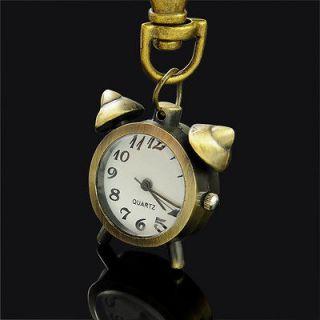 wholesales watch women me Alarm Clock Key Ring quartz Pocket Watch