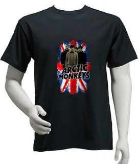 Arctic Monkeys Alex Turner British Flag Rock Punk Indie Shirt S,M,L,XL