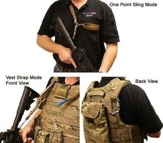 New Blue Force Gear Division 0814 Single One Point Tactical Vest