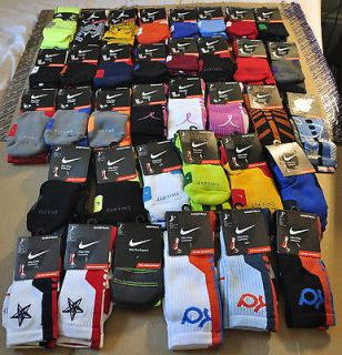 Mens Nike Elite Socks   M/L/XL   NWT   KD, Elite, Platinum, 2.0