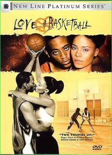 BASKETBALL RARE DVD Sanaa Lathan Vivian Vance Omar Epps Alfre Woodard