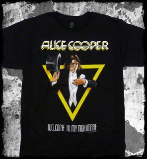 Alice Cooper   Welcome To My Nightmare t shirt   Official   FAST SHIP